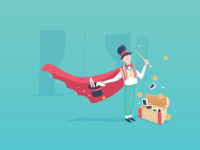 Magician - Memographic.co Project