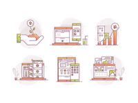 Growth Consulting icon sets