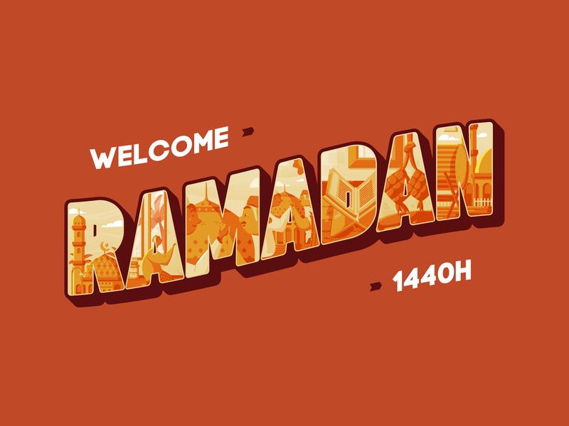 Welcome Ramadan Kareem 1440H