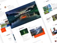 Travel — Landing page
