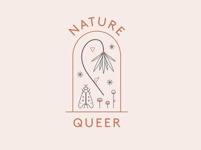 Nature Queer queer art triangle illustration plant nature illustration