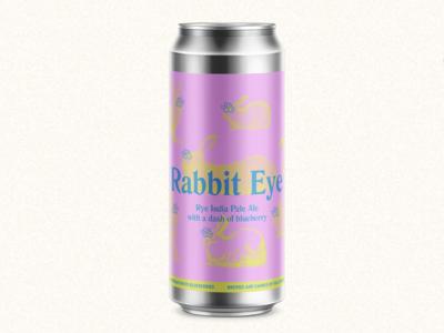 Rabbit Eye Beer Label