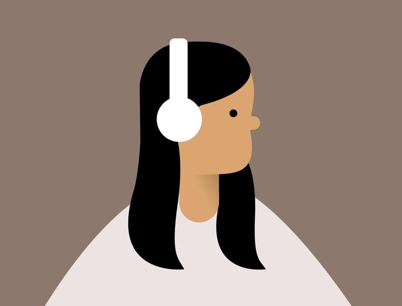Minimalist Portrait