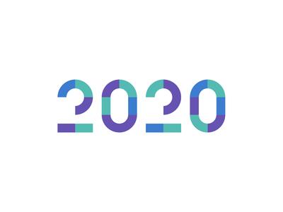 2020 typography
