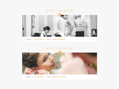 Photography Blog Layout