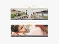Photography Blog Layout Option 2