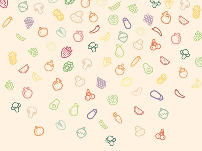 Fruits and Veggies wallpaper