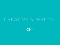 Creative Supply Co. logo concept