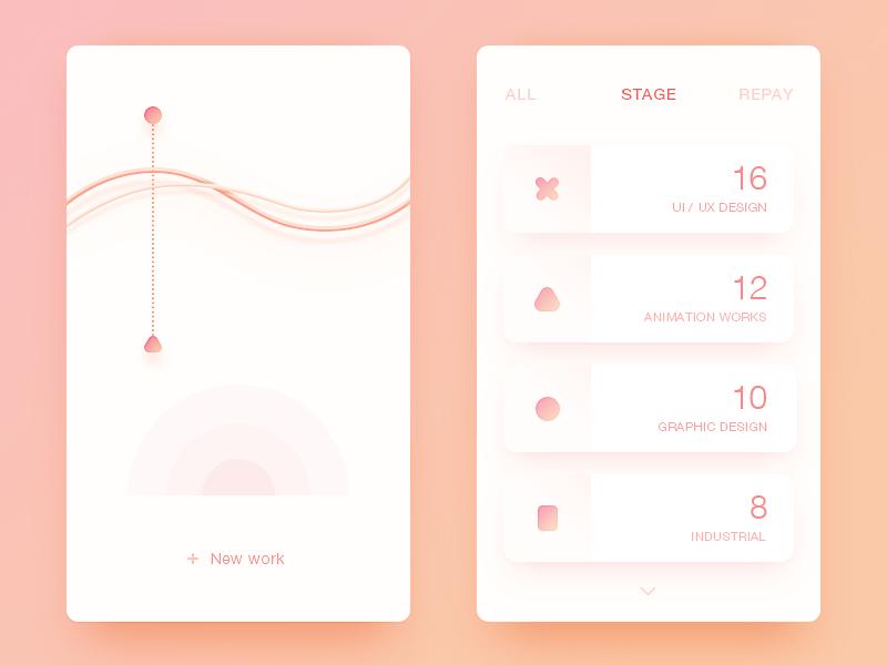 Data App color visual ux ui logo illustator icon design app