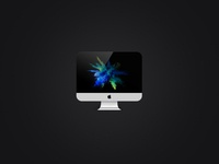 imac Icons imac visual mobile illustator color design ui ux icon app