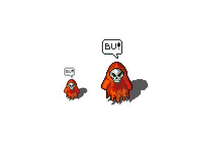 Spooky pixel