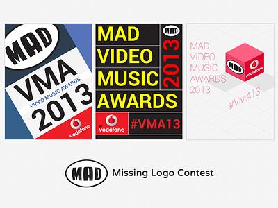 Mad Logo Contest logo vma contest logo contest isometric
