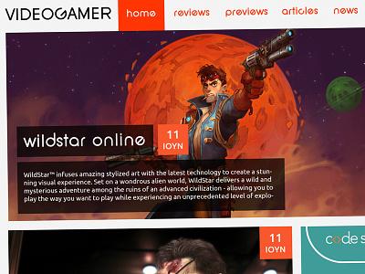 Videogamer.gr Redesign WIP video games video gamer games wip redesign flat