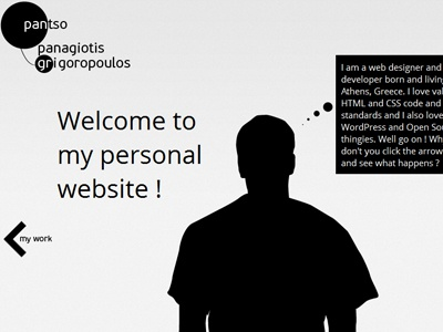 My new website !