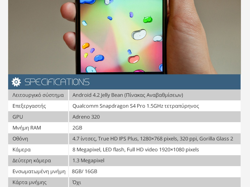 Mobile Specifications Table wordpress table flat design