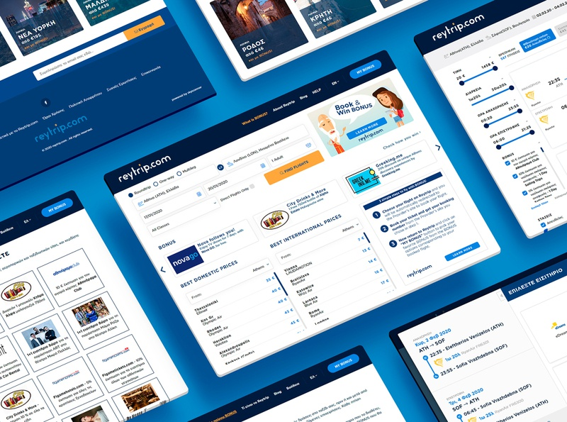 Reytrip.com Design flat design ux user interface ui user interface web design design traveling travel app travel