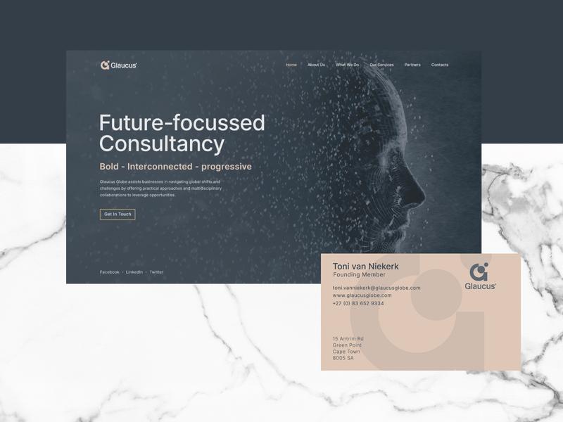Glaucus Globe Branding webdesign web illustration logo design brand design ux ui branding logo