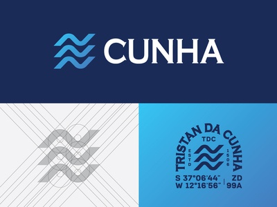 Tristan Da Cunha Logo Presentation