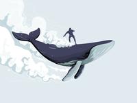 Whaling away