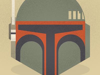 Boba Fett illustration texture vector star wars boba fett