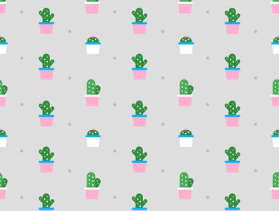 Cactuses cactus affinitydesigner affinity photo affinity designer pattern repeating repeating pattern