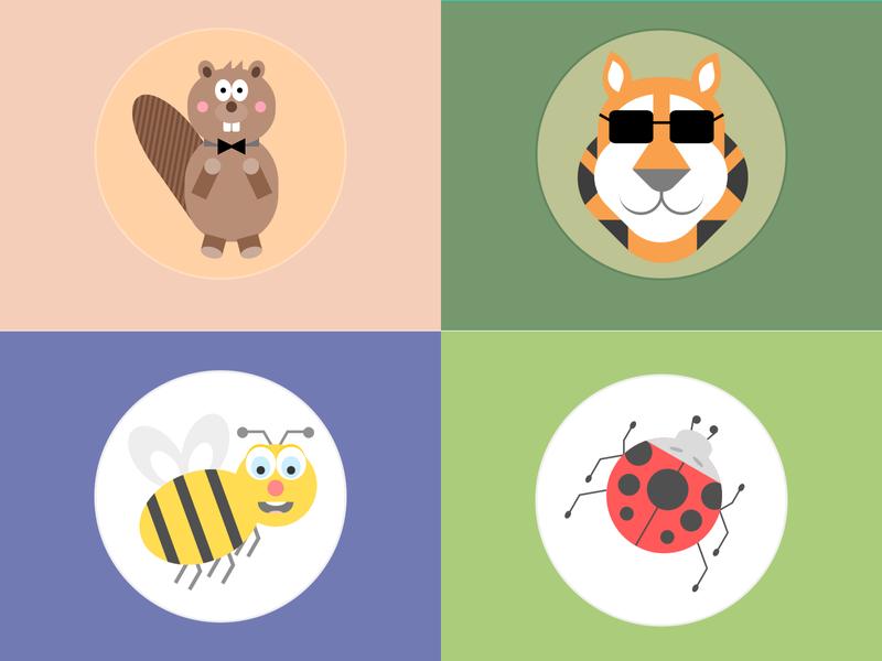 #dailycssimages - Animals animals html css code challenge
