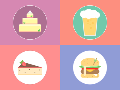#dailycssimages - Food code food css html challenge