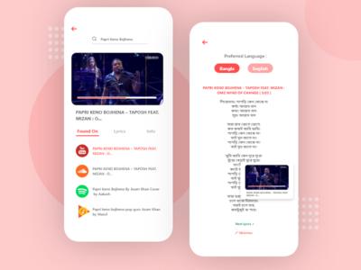 Musiction - App concept