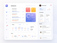Agency Dashboard Tablet App performance monitoring kpi earning teamwork portfolio mobile app ux design ui design agensip stats ipad agency management card dashboard mobile clean flat app
