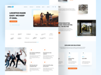 Chill Landing Page Redesign social proof promo sales page branding webdesign product design website concep big image landing page landing chill management blue card clean ux ui