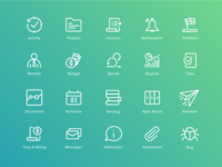 Project Management Icon Set (updated)