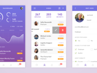 Pii app dribbble full