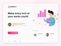Worker Progress Web App Start Page