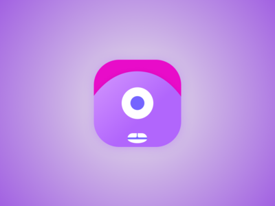Cyclops App Icon - 005 005 parrot app icon ui daily