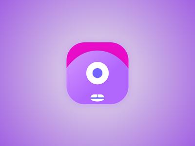 Cyclops App Icon - 005 005 parrot app icon ui daily