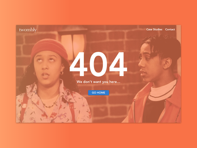 Page Not Found - 008 ux ui photo dailyui 90s page 404 008