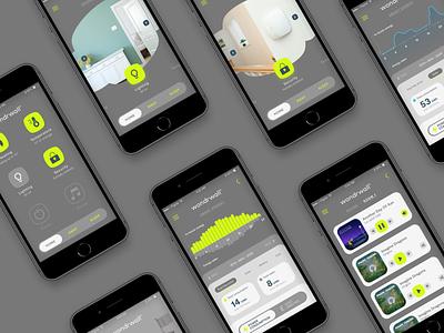 Wondrwall Pitch control home ios mobile app