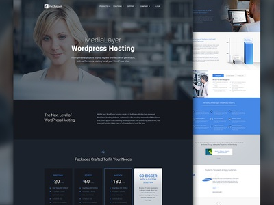MediaLayer Wordpress Hosting
