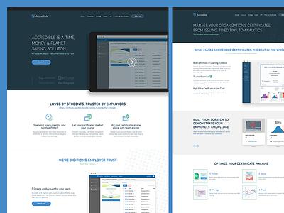 Accredible Website app web courses education certificates