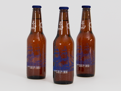 The Ship Inn Bottles inn pub ship homebrew beer