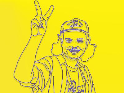 Mac Demarco weirdo illustration demarco mac