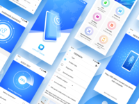 Alcatel support senter App design