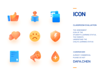Classroom assessment icon