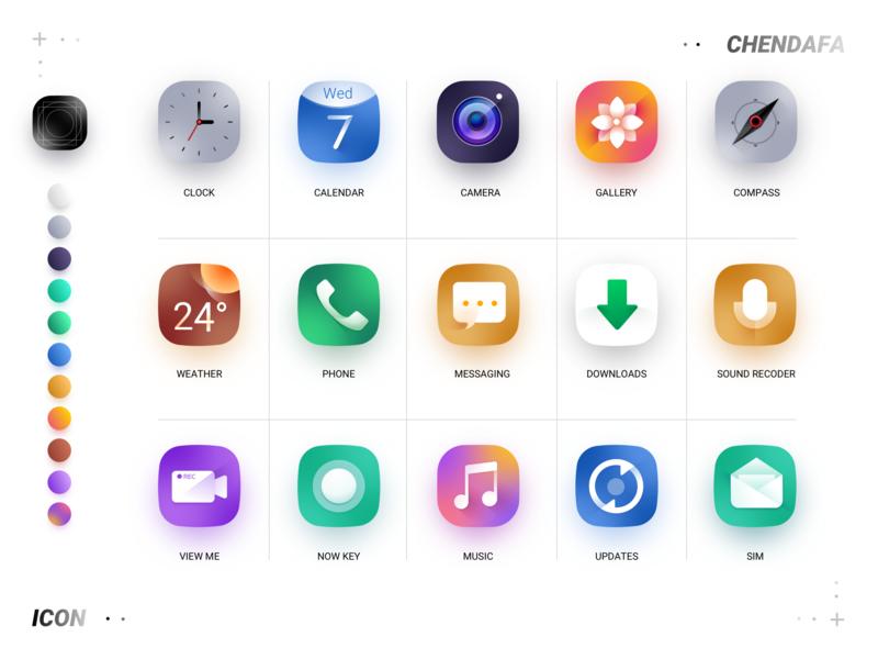 Icon web vector lovely sketch logo ui icon design