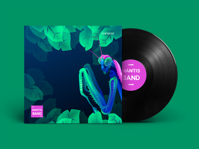 mantis band 向量 商标 ux 插图