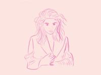 Lorde - Quick Line Sketch