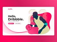 Hello, Dribbble.