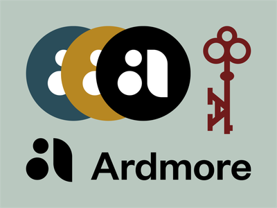Ardmore apartments logo letter a a key residential corporate mark indianapolis apartment logo