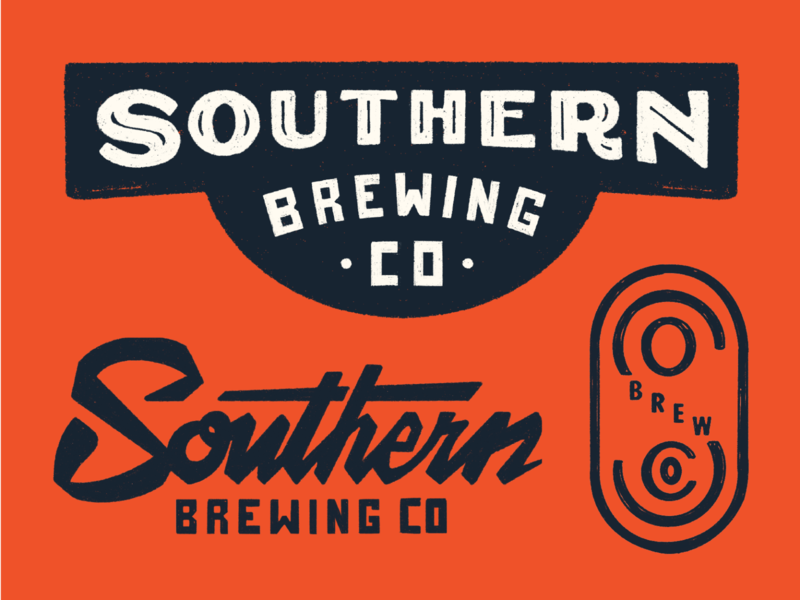 Southern brewing branding