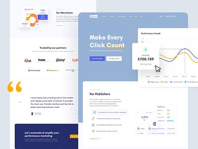 Heylink - Home page digital product design monetize web app marketing publishers automation ads web design landing page clean website ui